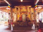 ceremony inside temple of tooth